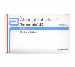 Tenormin 25 mg (14 pills)