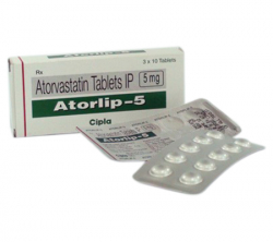 Atorlip 5 mg (10 pills)
