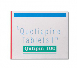Qutipin 100 mg (10 pills)
