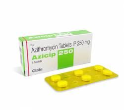 Azicip 250 mg (6 pills)