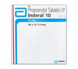 Inderal 10 mg (10 pills)