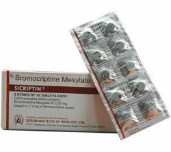 Sicriptin 2.5 mg (10 pills)