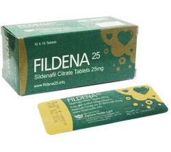 Fildena 25 mg (10 pills)