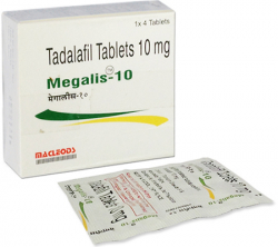 Megalis 10 mg (4 pills)
