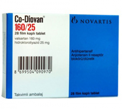Co-Diovan 160 mg / 25 mg (28 pills)