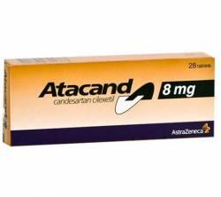 Atacand 8 mg (28 pills)