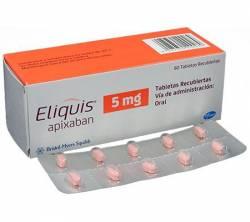 Eliquis 5 mg (10 pills)
