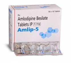 Amlip 5 mg (10 pills)