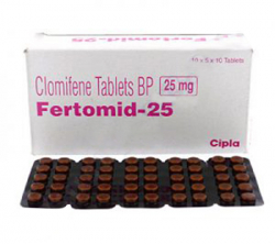 Fertomid 25 mg (10 pills)