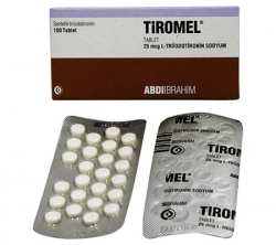 T3 (Tiromel) 25 mcg (100 pills)