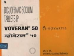 Voveran 50 mg (15 pills)