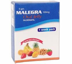Malegra Oral Jelly 100 mg (7 sachets)