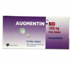 Augmentin BID 625 mg (10 pills)