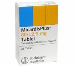Micardis Plus 80 mg / 12,5 mg (28 pills)