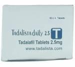 Tadalista 2.5 mg (10 pills)