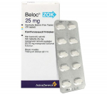 Beloc ZOK 25 mg (20 pills)