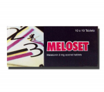 Meloset 3 mg (10 pills)