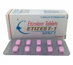 Etizest 1 mg (50 pills)