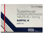 Sartel H 40 mg / 12.5 mg (15 pills)