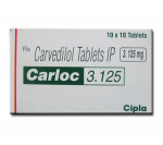 Carloc 3.125 mg (10 pills)