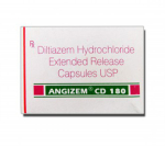 Angizem CD 180 mg (10 pills)